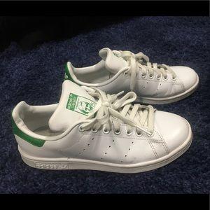 💚ADIDAS💚StanSmith white/green size 7.5 women